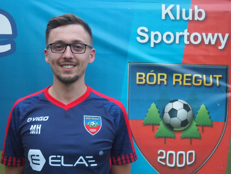 Trener Mateusz Hajdacki